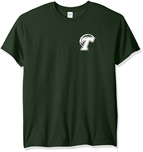 (NCAA Tulane Green Wave Adult Stripe Nation Short sleeve, X-Large, Forest Green)