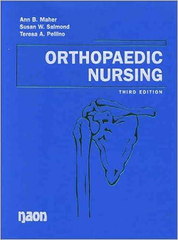 Orthopaedic Nursing (Orthopaedic Nursing ( Maher))