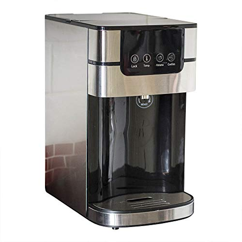 Jack Stonehouse 4L Compact Instant Hot Water Dispenser with Adjustable...