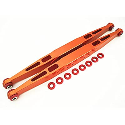 Aluminum Rear Trailing Arms Linkage Orange For TRAXXASSS Unlimited Desert Racer UDR 8544: Toys & Games