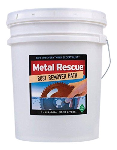 Workshop Hero WH570295 Metal Rescue Rust Remover - 5 Gallon Pail by Workshop Hero (Image #1)
