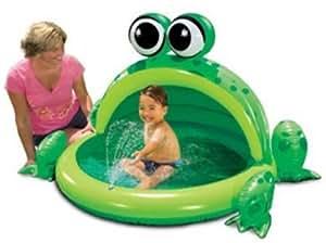 Amazon Com My 1st Summer Hoppy Frog Pool Toys Amp Games