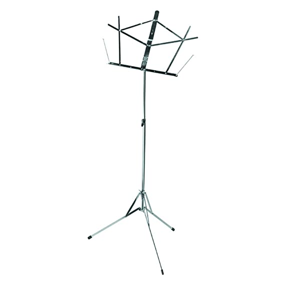 amazon on stage folding music stand chrome musical instruments 60 Inch TV