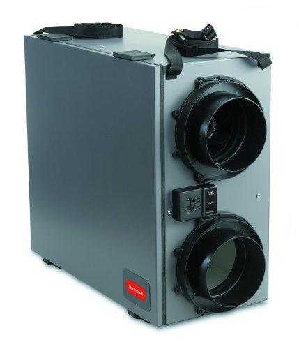 Air Heat Exchanger (Honeywell VNT5150E1000 Truefresh 150 CFM Energy Recovery Ventilation System)