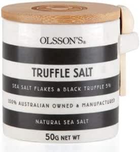 Olsson's Truffle Salt Sea Salt Flakes Black Truffle