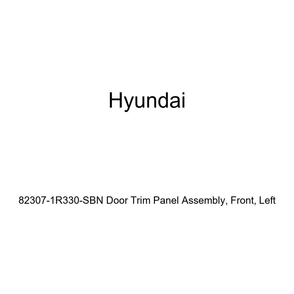 Genuine Hyundai 82307-1R330-SBN Door Trim Panel Assembly Left Front