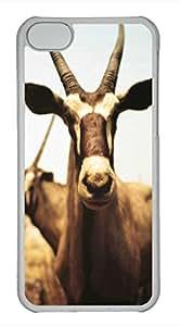 iPhone 5c case, Cute Herbivorous Animals iPhone 5c Cover, iPhone 5c Cases, Hard Clear iPhone 5c Covers