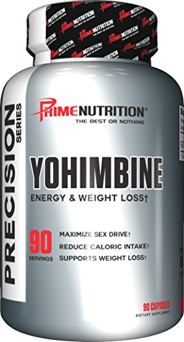 Prime Nutrition Yohimbine Capsules Count product image