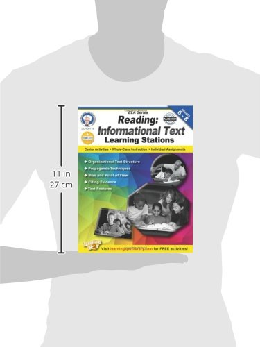 Reading, Grades 6 - 8: Informational Text Learning Stations ...