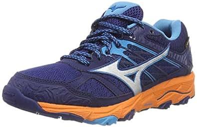 Mizuno Wave Mujin 5 GTX, Zapatillas para Mujer: Amazon.es: Zapatos y complementos