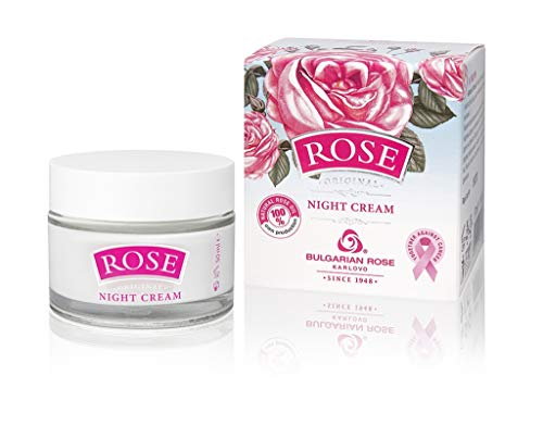 ROSE Night Cream With Natural Rose Oil, 50ml