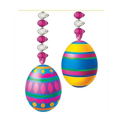 Bargain World Easter Egg Danglers (2/pkg) (with Sticky Notes)