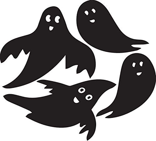 YWS Halloween Ghost Vinyl Decal Stickers Laptop Car Window Bumper Cup Door Wall Decoration SMA0455 -