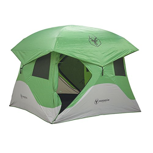Gazelle 30400 T4 Pop-Up Portable Camping Hub Overlanding Tent, Easy Instant Set Up in 90 Seconds, 4 Person