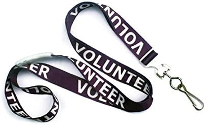 """High Quality Polyester 5//8/"""" Lanyards Printed With Your Logo Name //Text 100 QTY"""