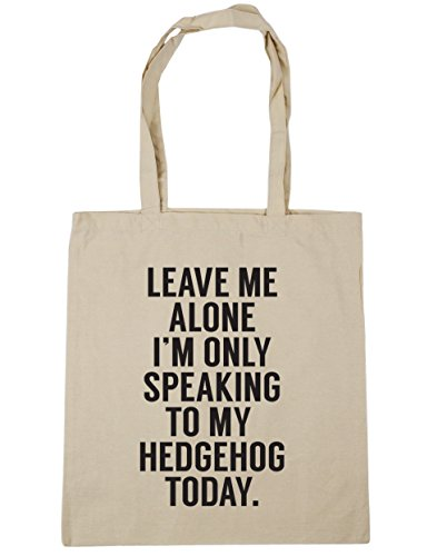 to alone today me speaking Gym my only Shopping Beach Bag Natural hedgehog HippoWarehouse I'm 10 Leave 42cm litres Tote x38cm xqzE5zwY