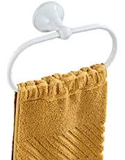 Aothpher Brass Towel Ring Oval Contemporary Bathroom Hand Towel Holder Wall Mounted