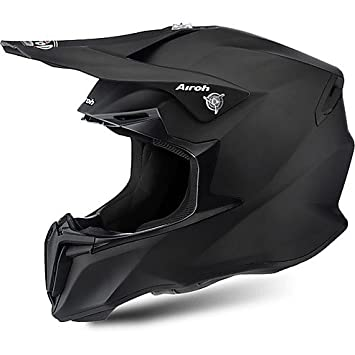 Casco Moto Cross Enduro Airoh Twist 2016 Color Negro Mate Small