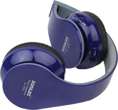 96acf728334 Sonilex SL-BT02 Wireless Bluetooth Headphone Foldable Headset with FM Radio  and Micro SD Card Slot (Multicolored Over The Ear): Buy Sonilex SL-BT02  Wireless ...