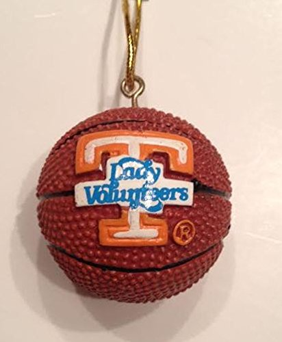 Tennessee Lady Volunteers Basketball Ornament 3-pack
