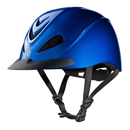 Troxel Performance Headgear Liberty Riding Helmet L Cobolt (Helmet Schooling Spirit Troxel)