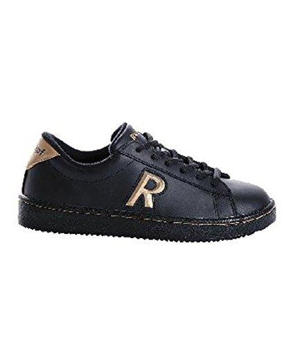 Rumpf 1600 Rebel Damen Herren Tanz Hip Hop Streetdance Freizeit Dance Sneaker Leder Schuhe Black