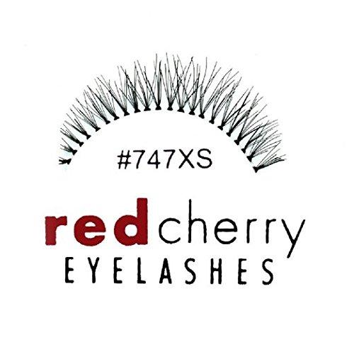 Red Cherry Eyelashes #747xs (Pack of 3)