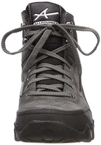coresuede Mephisto De tex black Mujer Allrounder 1 grey Rubber Zapatillas Running Para 08 di Nigata ch 6q5X1f