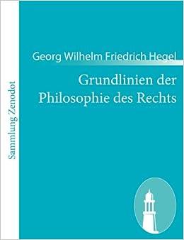 Grundlinien Der Philosophie Des Rechts: por Georg Wilhelm Friedrich Hegel epub