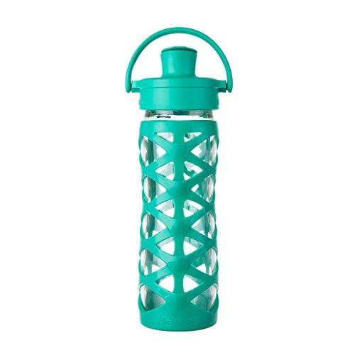 Lifefactory 16 Ounce BPA Free Silicone Aquatic