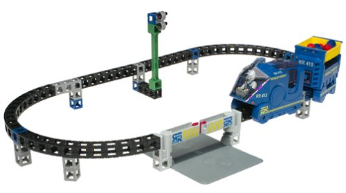 Rokenbok R/C Monorail with Track and Crossing (Old version, only works with Classic wired radio control system) from Rokenbok