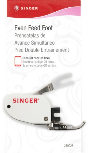 SINGER | Even Feed Walking Presser Foot for Quilting or Thick Fabric Sewing on Low-Shank Sewing Machines