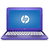 2017 HP Stream 11 11.6 inch Premium Flagship Laptop Computer, Intel Celeron N3060 1.6GHz, 4GB RAM, 32GB eMMC drive, 802.11ac WiFi, USB 3.1 port, Windows 10, Purple (Certified Refurbished)