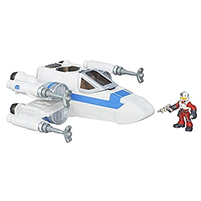 Playskool Heroes Galactic Heroes Star Wars Resistance X-Wing Fighter