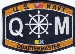 Amazon.com: US Navy Quartermaster QM Patch: Automotive