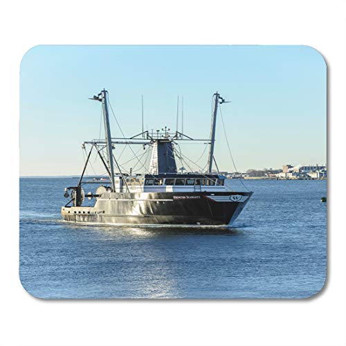 Desk Laptop Bedford (Emvency Mouse Pads New Bedford Massachusetts USA February 13 Commercial Fishing Boat Mouse Pad for notebooks, Desktop Computers mats 9.5