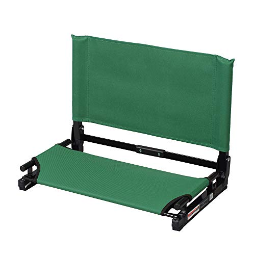 The Stadium Chair Co. Deluxe Wide Model Stadium Chair (Forest Green),