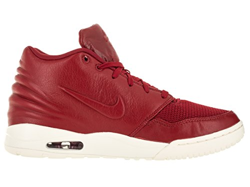 Nike Mens Air Entertrainer Pallacanestro Scarpa Palestra Rosso / Palestra Rosso / Vela