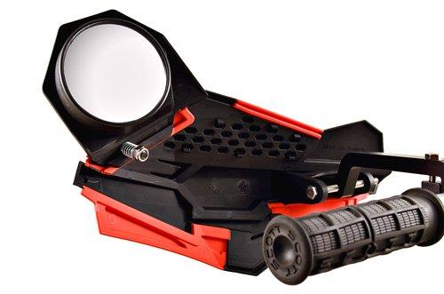 Fixed//Fold In PowerMadd 34455 Black Sentinel Handguard Mirror Kit