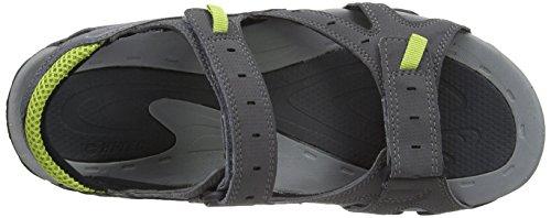 Charcoal Black grau Chartreuse Grigio Sandali 051 Laguna Uomo Strap Tec da Hi Awzxq800