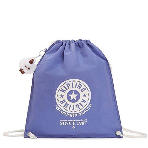 Kipling Women's Emjay Drawstring Backpack One Size Bold Purple by Kipling