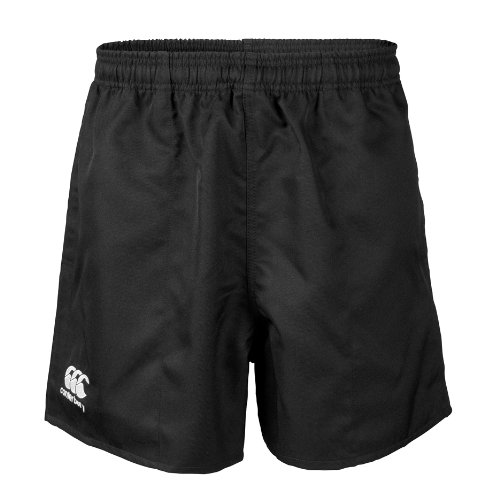 Canterbury Professional Rugby Shorts, Black, 36-Inch