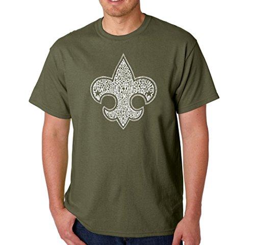 Men's Graphic Novelty T-shirt Tees 100% Cotton - Boy Scout Oath