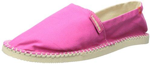 Havaianas Women's Origine II Espadrille Sandal, Fuchsia, 38 BR/8 M - Pink Havaianas