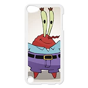 Mr. Krabs iPod Touch 5 Case White Cell Phone Case Cover EEECBCAAK04030