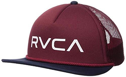 (RVCA Men's Foamy Trucker Hat, Navy/Wine EA)