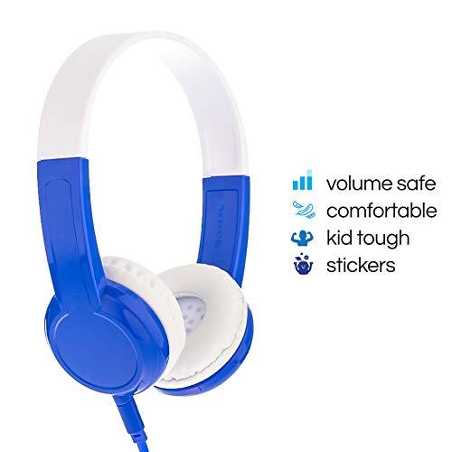 BuddyPhones Explore | Kids Headphones | Non-Foldable
