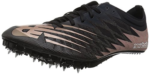 (New Balance Women's Vazee Verge v1 Track Shoe, Black/Rose Gold, 8 B US)