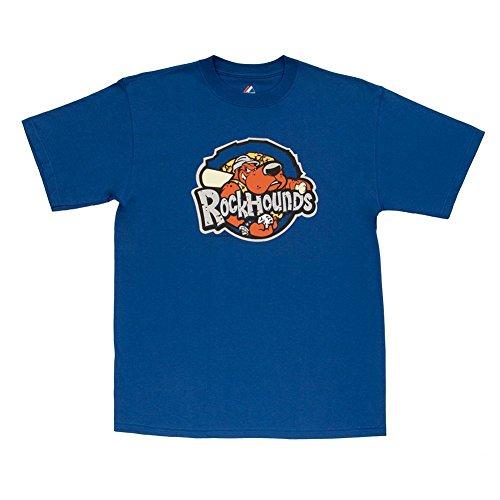 Rockhounds Minor League T-shirt - Midland Rockhounds Minor League Adult Replica T-Shirt (X-Large)