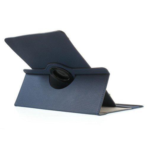 jbTec® Tablet-Hülle / Tasche - Universal 9-10' Zoll - 360° - Case, Schutzhülle, Cover, Farbe:Navy-Blau